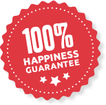 100% Happiness Guarantee from AW Decorators